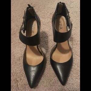 e8a96f181e8b a.n.a A New Approach White Shoes.  20  60. Black shoes. Sz 8. Excellent  used condition.